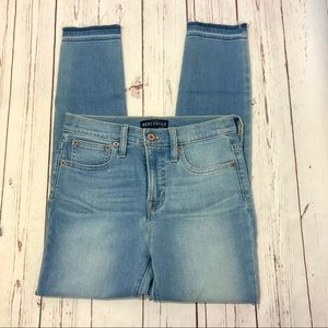 J Crew Mercantile Skinny Cropped Jeans 25 Waist